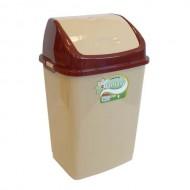 Atkritumu tvertne ar šūpojošos vāku 50 L