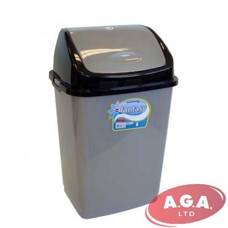 trash plastic lid bath product liter can simplehuman store swing reg beyond bed
