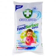 Green Shield pārtikas virsmām