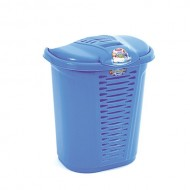 Laundry basket with lid 55 L