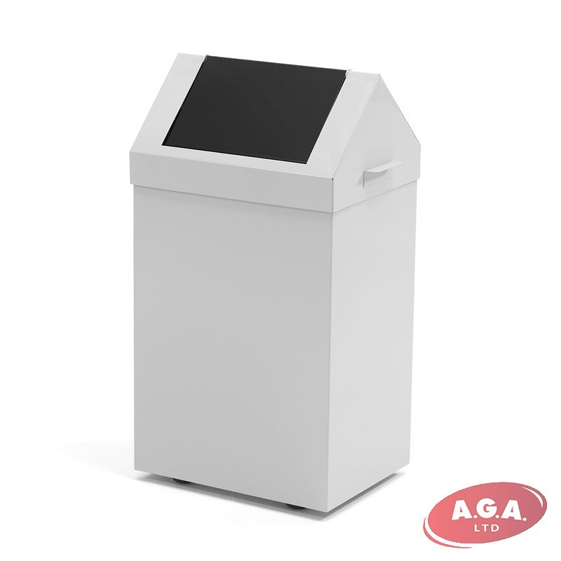 lid white view top stock can photo easy mechanism stainless download background polished steel with swing image isolated trash