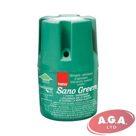 Sano WC bloks 150 g Zaļš