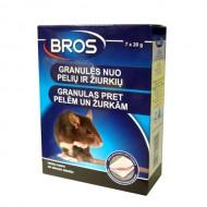 Bros granulas pret pelēm un žurkām 140 g