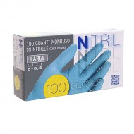 Nitrila 100 gb L