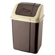 Atkritumu tvertne ar šūpojošos vāku 18 L