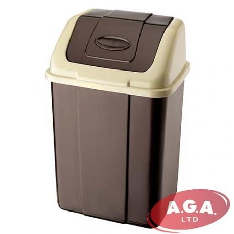 lid kis ip gallon trashcan walmart trash slim com swing can