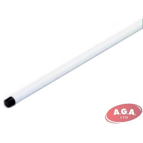 Metāla kāts ar smalko vītni, 140 cm